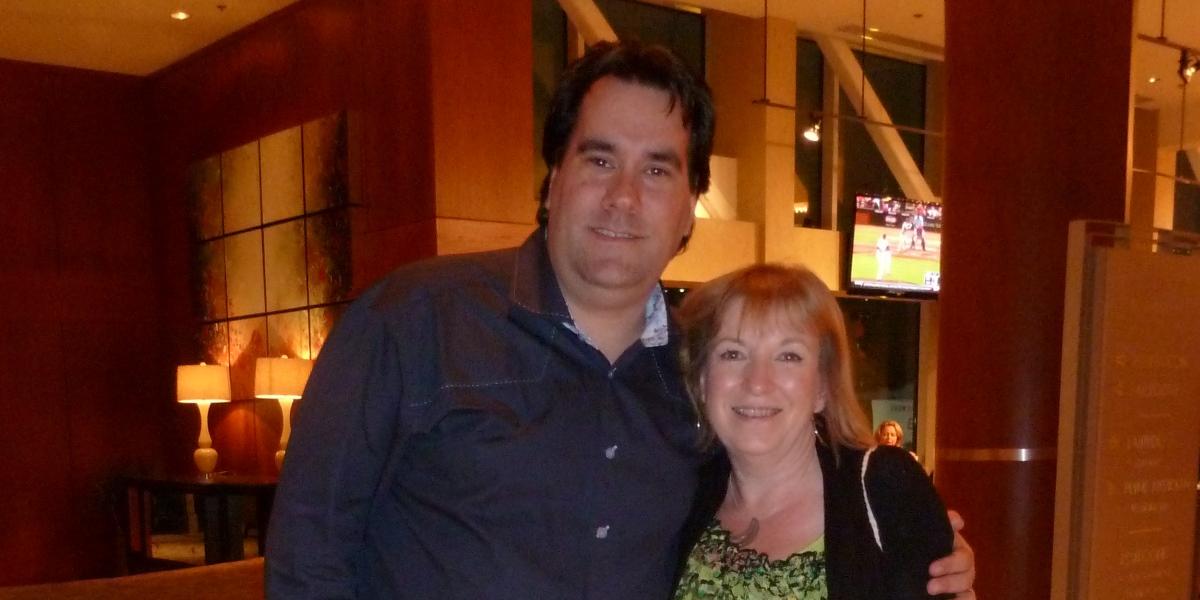 Carole with Tony